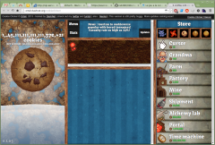 1.4,05e, 21 cookies   Cookie Clicker   Google Chrome 025